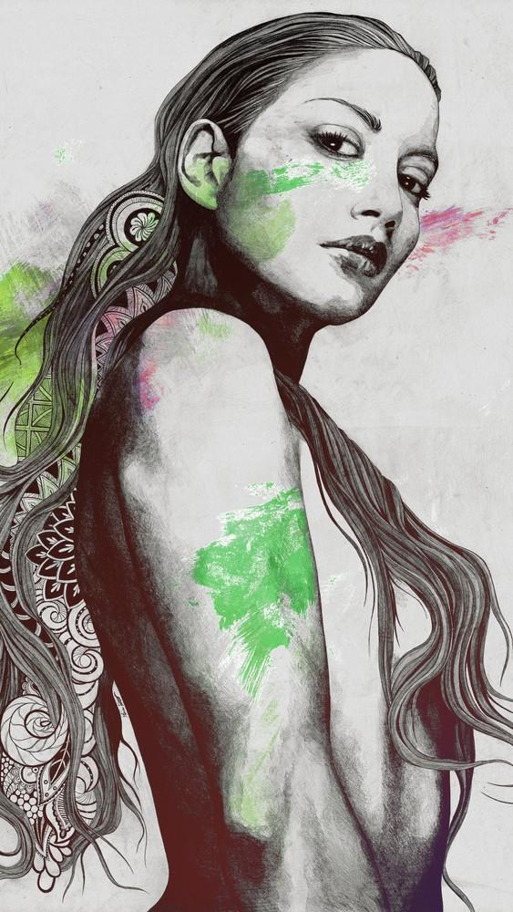 Cleansing Undertones: Acid Green