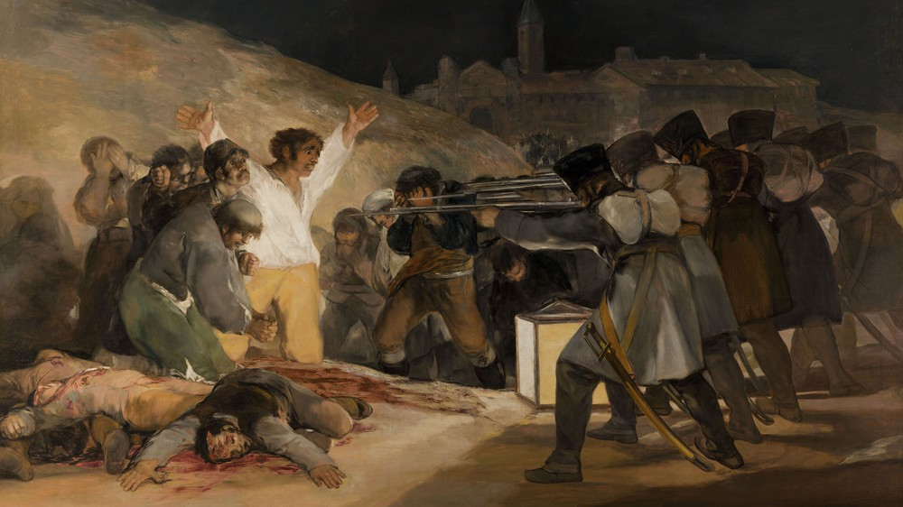 Execution of the Defenders of Madrid, May 3rd, 1808
