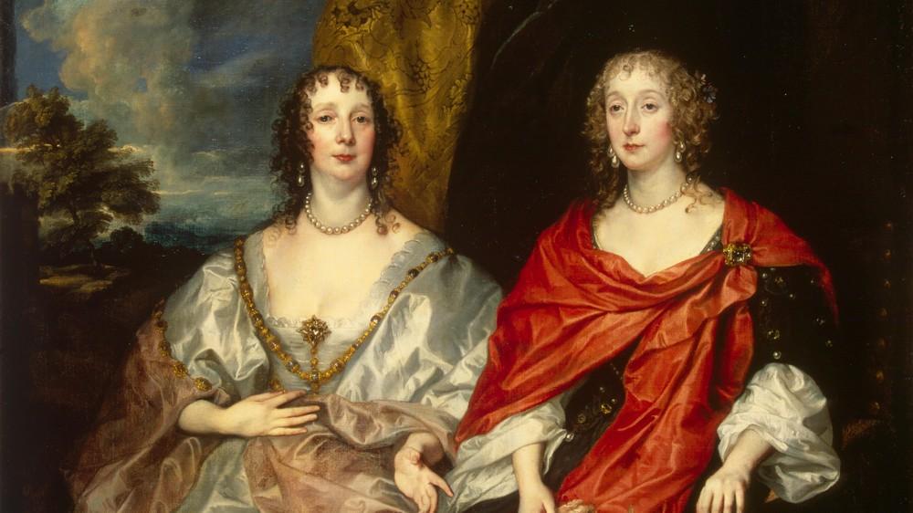 Portrait of Ladies-in-Waiting to Queen Henrietta Maria