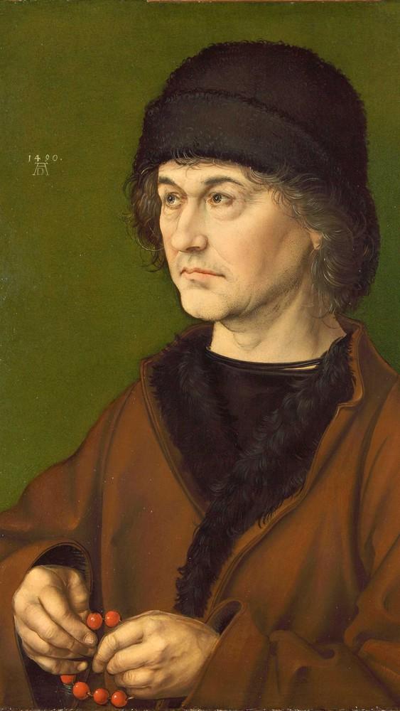 Dürers father, Albrecht Dürer the Elder