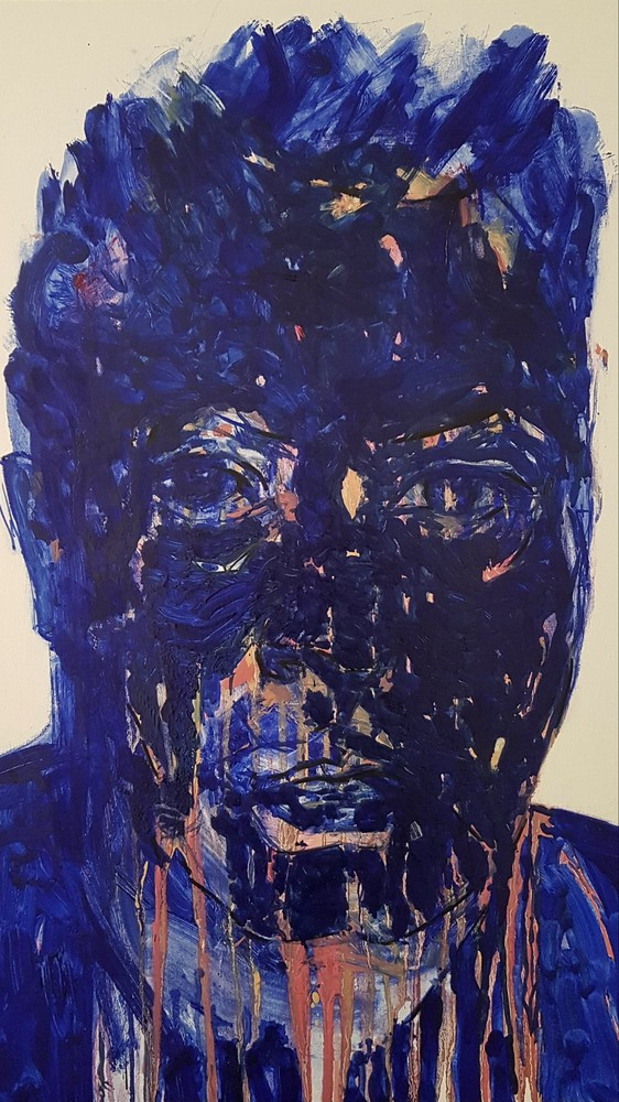 Self Portrait Ultramarine