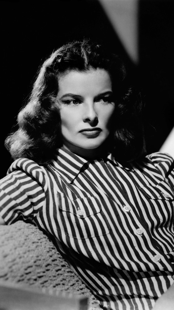 Actress Katharine Hepburn