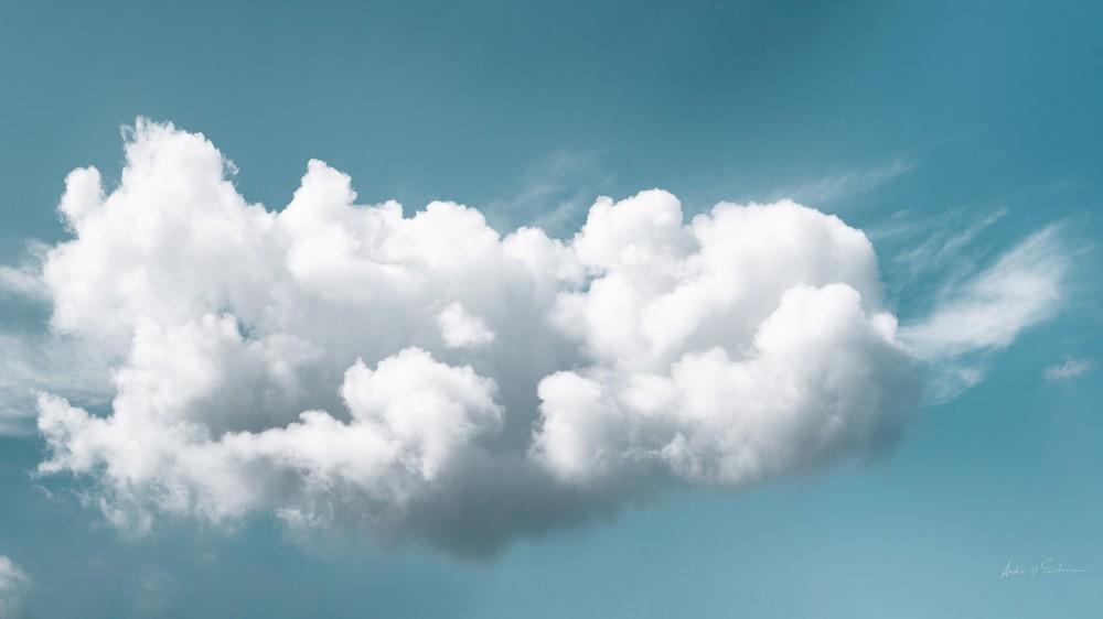 Clouds I Blue