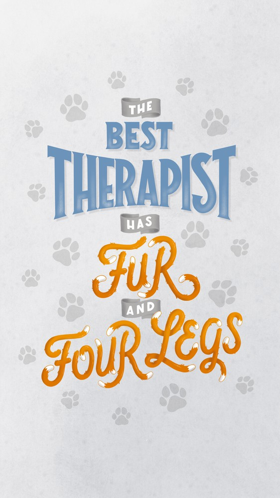 The Best Therapist Has Fur and Four Legs