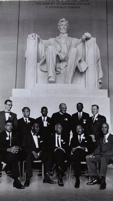 Leaders of the Civil Rights March on Washington, D.C.