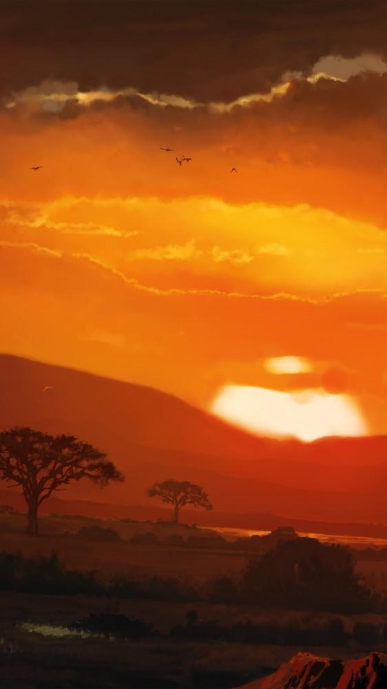 Wakanda Sunset