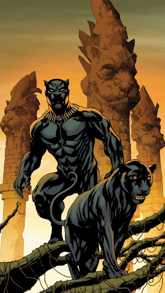 Black Panther #1, Variant Cover