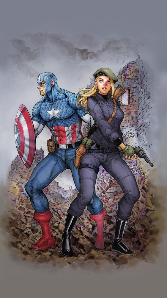 Captain America & Peggy Carter