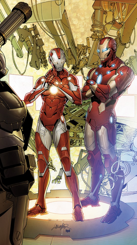 Iron Man & Pepper Potts