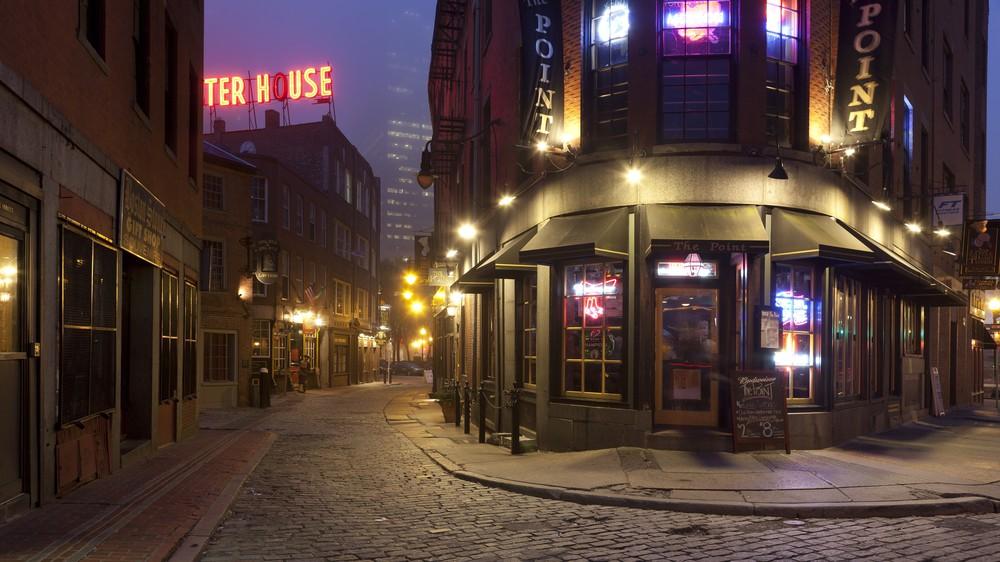 Cobblestone Streets of Boston