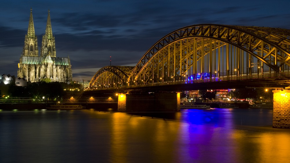 Cologne, Germany and the Rhine River