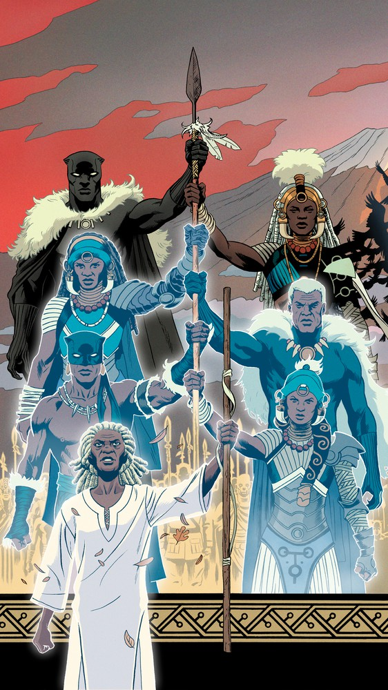 Black Panther #11, Variant Cover