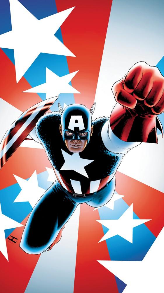 Captain America #1 - Variant Cover