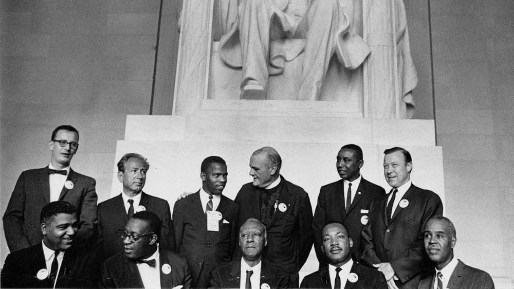Leaders of the Civil Rights March on Washington, D.C. (close-up)