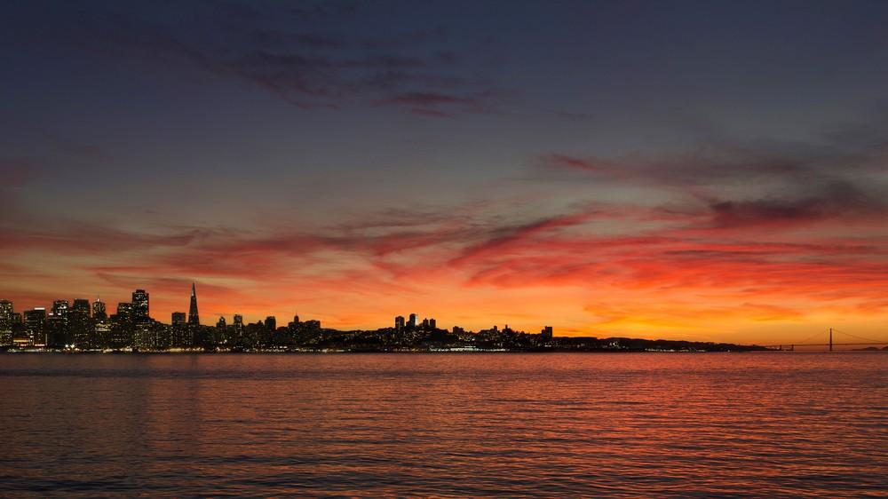 San Francisco Amazing Sunset