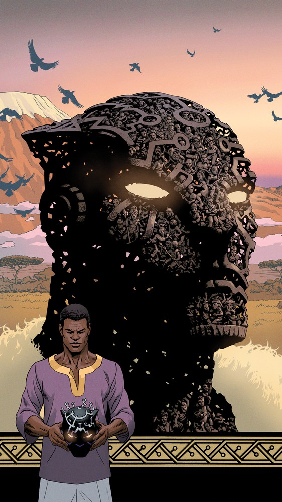 Black Panther #12, Variant Cover