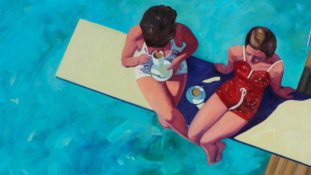 Diving Board Tea for Two