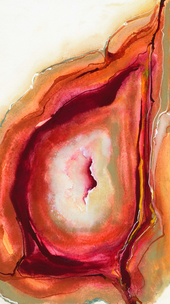 Watercolor Geode