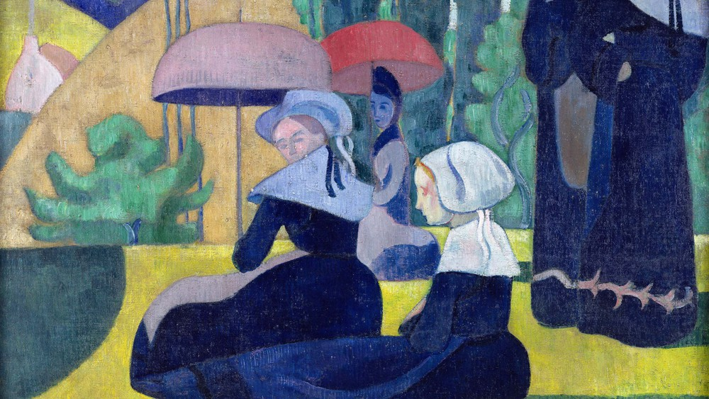 Breton Women in the Shade