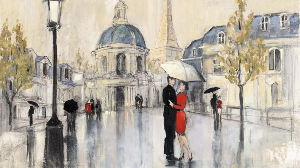Spring Rain, Paris