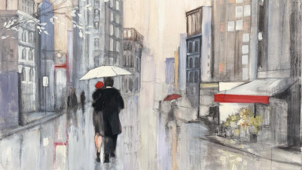 Spring Rain, New York