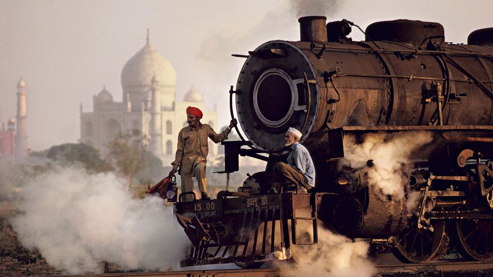 Past Meets Present in Agra, India