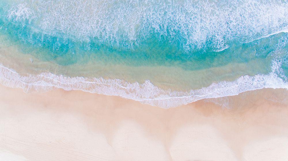 Sea Washing Ashore