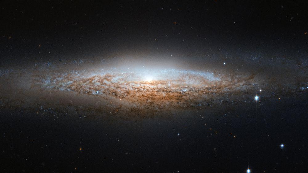 NGC-2683 Spiral Galaxy