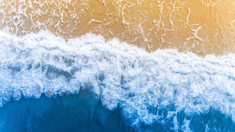 Palm Coast, Florida Drone View