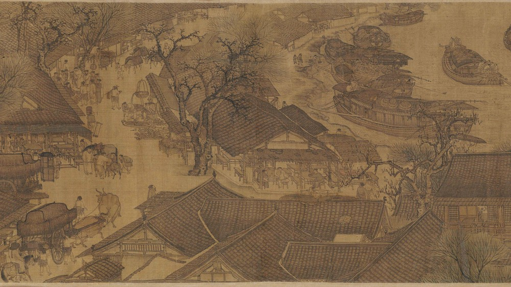 The Qingming Spring Festival Along the River (Section 8)