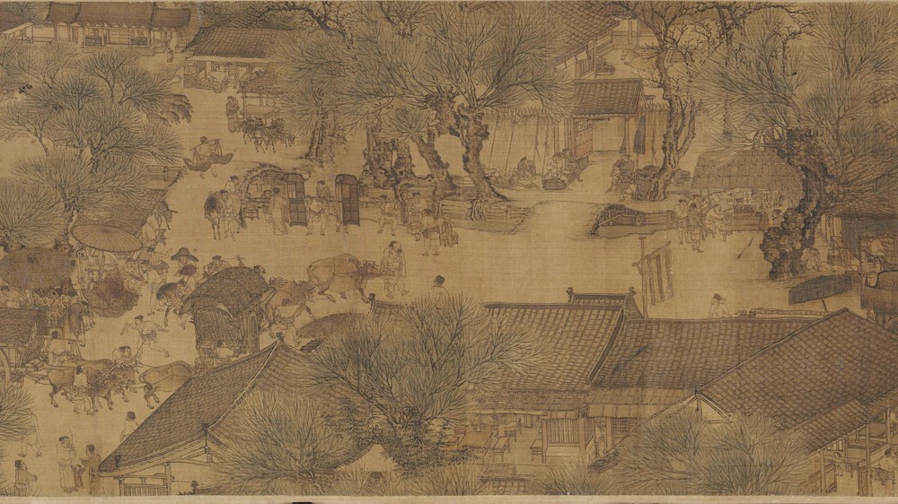 The Qingming Spring Festival Along the River (Section 9)