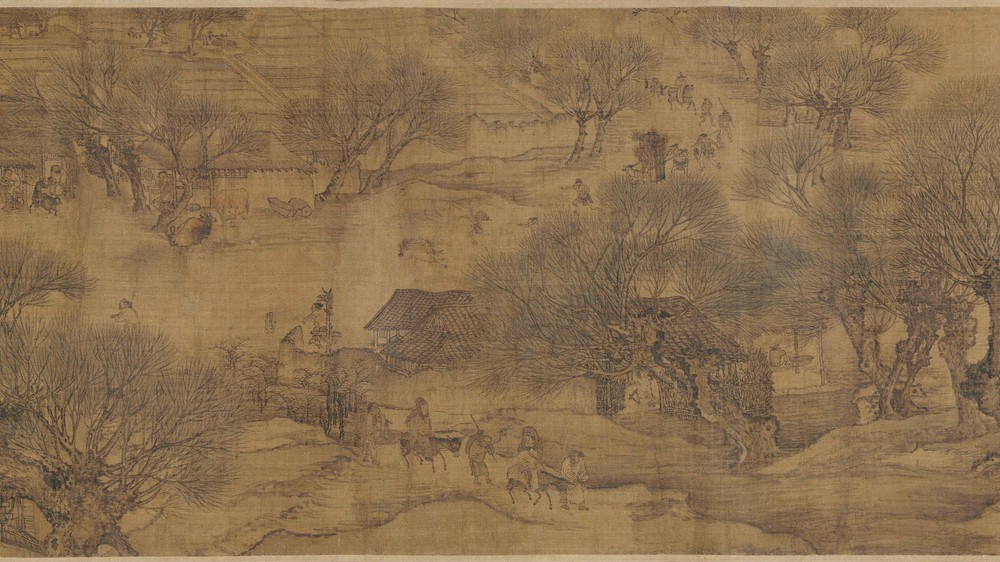 The Qingming Spring Festival Along the River (Section 3)