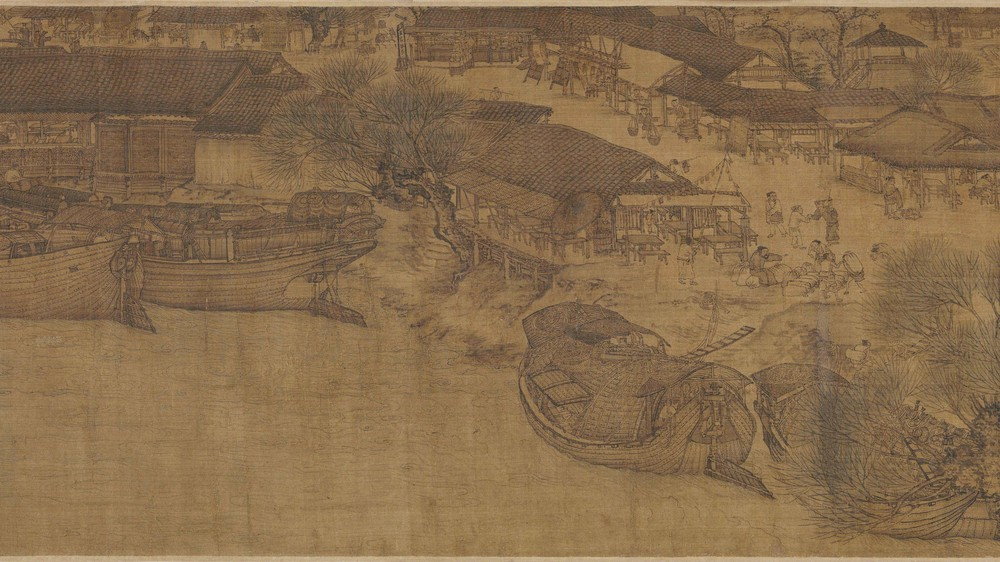 The Qingming Spring Festival Along the River (Section 4)
