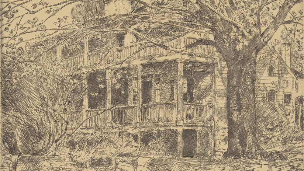 The Old House, Cos Cob