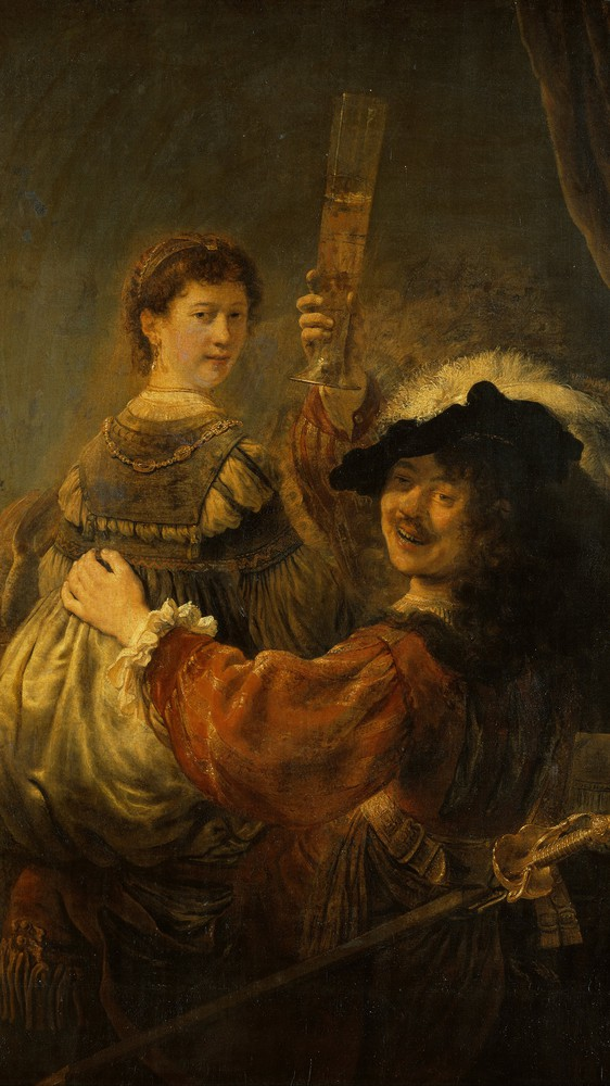 The Love of Rembrandt's Life