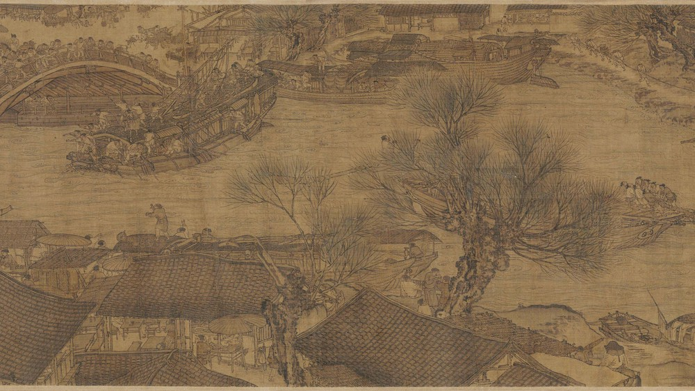 The Qingming Spring Festival Along the River (Section 6)