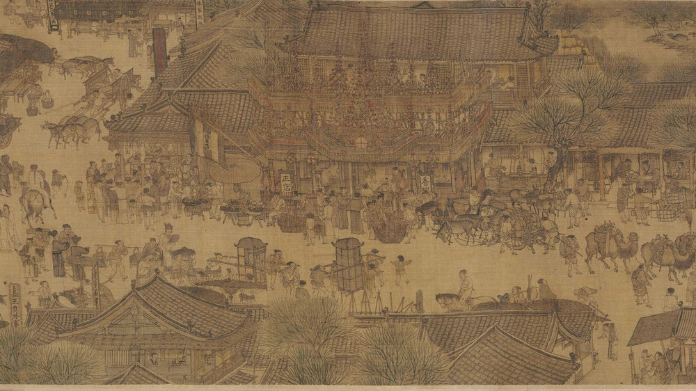 The Qingming Spring Festival Along the River (Section 11)