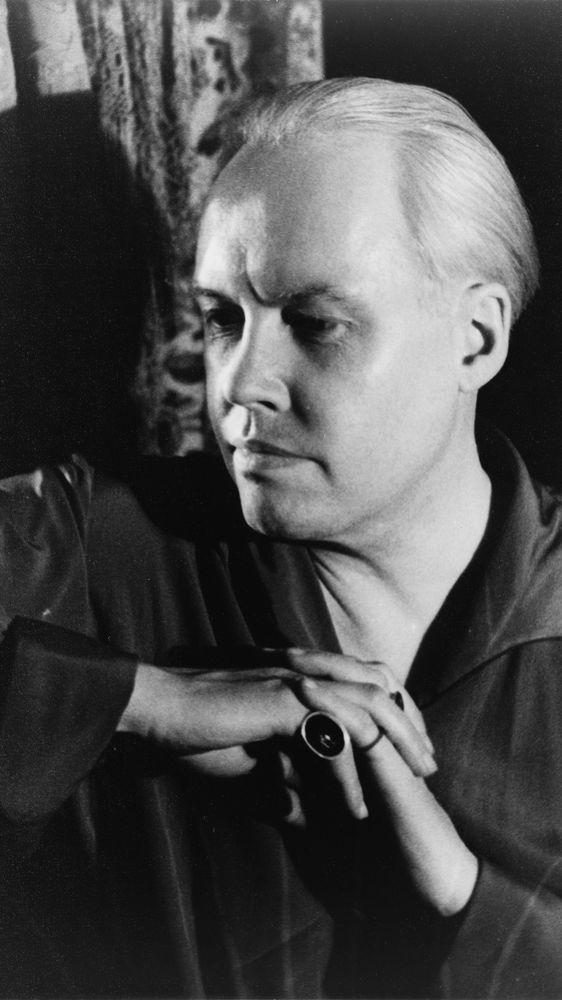 Self-Portrait of Carl Van Vechten