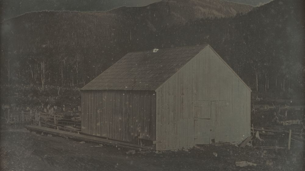 Barn in Hart's Location, New Hampshire