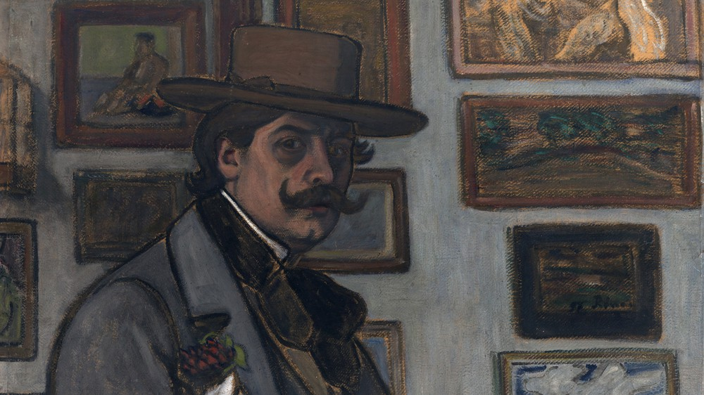 Self-Portrait in a Brown Hat