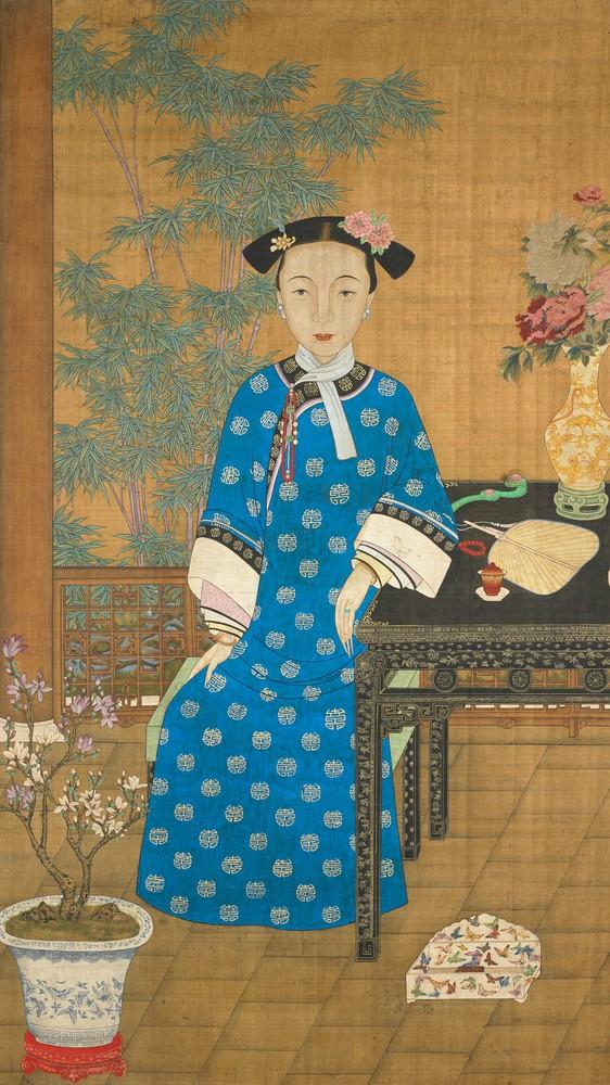Birthday Portrait of a Young Manchu Lady