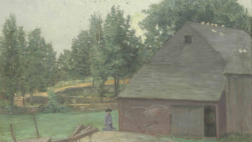 Summer in Connecticut, The Old Barn at Branchville