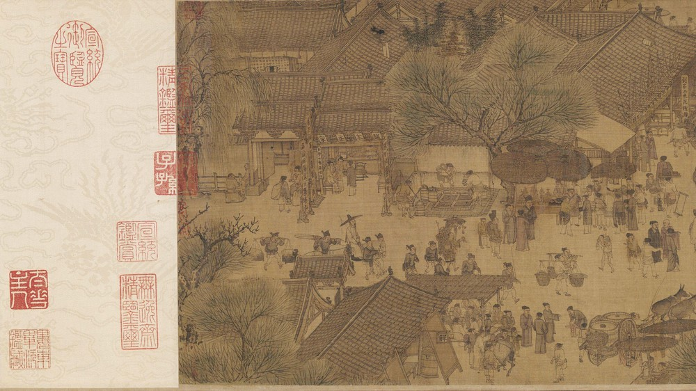 The Qingming Spring Festival Along the River (Section 12)