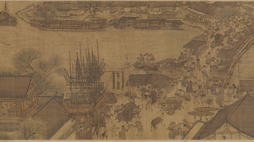 The Qingming Spring Festival Along the River (Section 7)