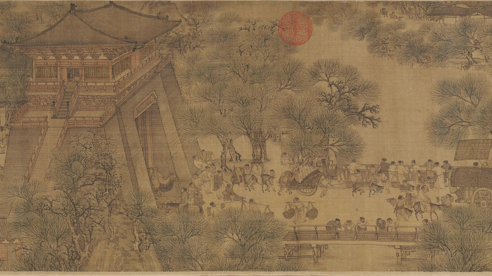 The Qingming Spring Festival Along the River (Section 10)