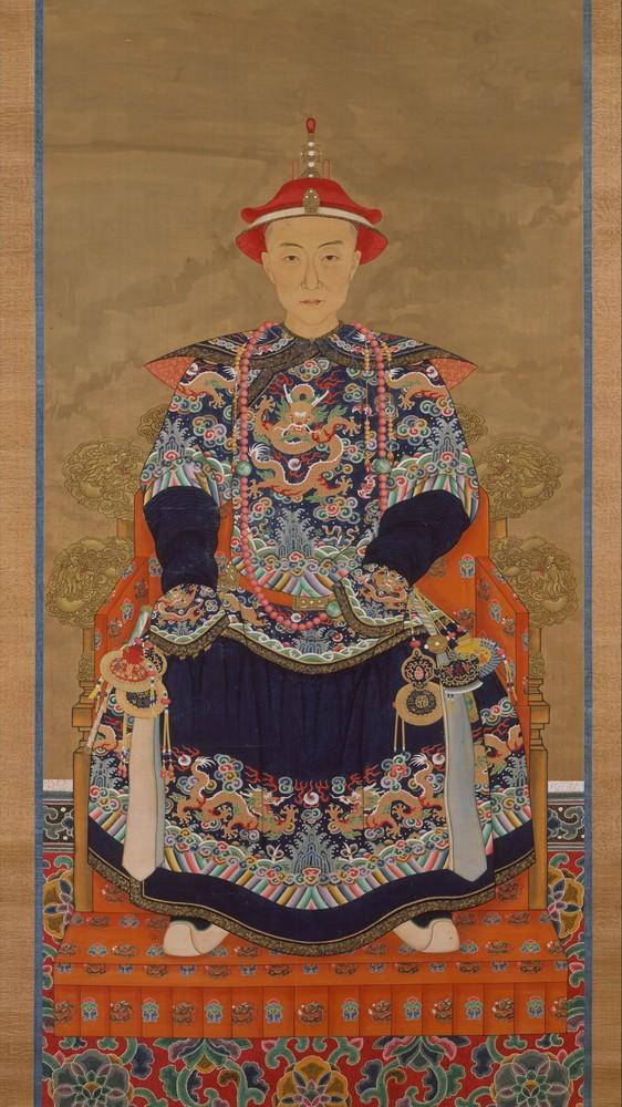 Portrait of Qianlong Emperor As a Young Man