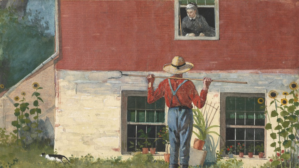 In the Garden (Rustic Courtship)