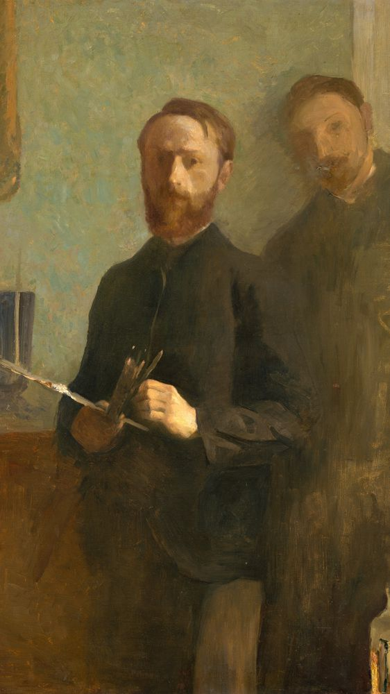 Self-Portrait with Waroquy