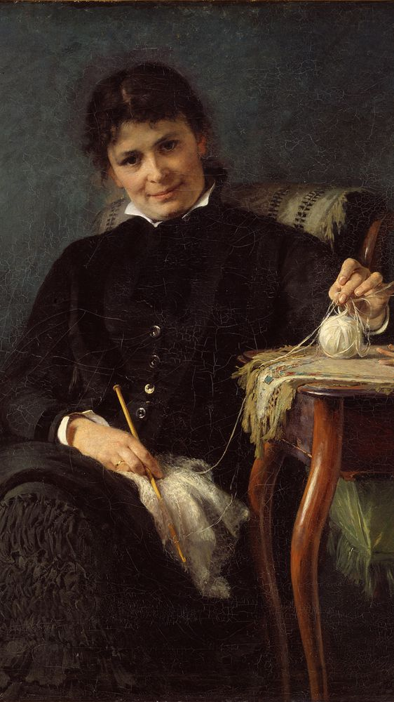 Madam Anna Seekamp, the Artist's Sister