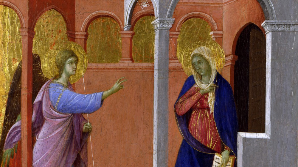 Maestà: The Annunciation